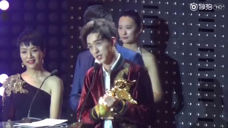 Xu Weizhou Timmy 许魏洲ZZ 27/09/2016 亚洲新歌榜,最佳新人奖,全程剪辑