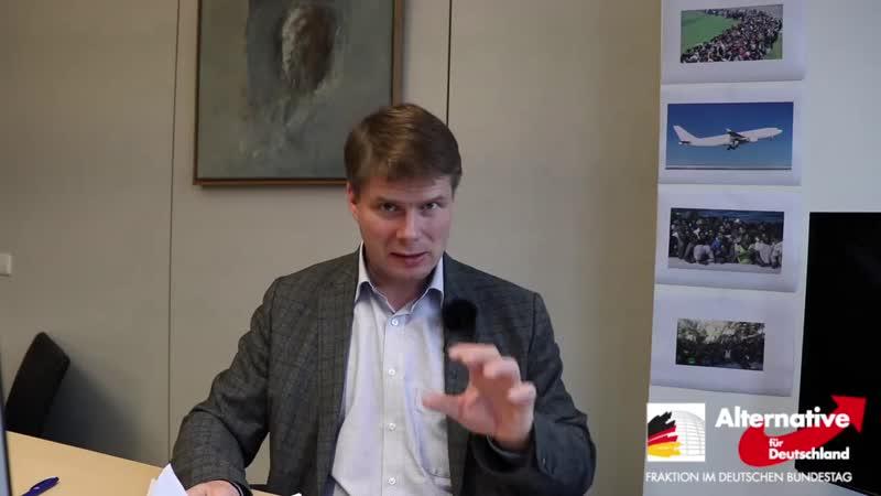 Steffen Kotré Regierung lässt Flüchtlinge einfliegen
