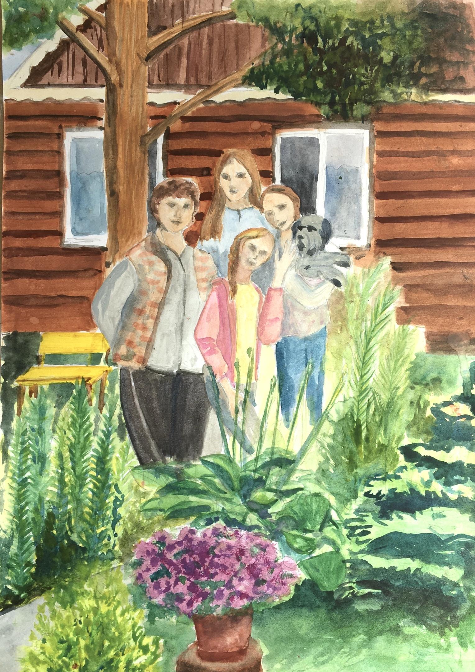 Иванова Мария 2/6 «В» класс «Моя семья»