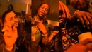 Jackboys Travis Scott with Young Thug, Gunna, Nav at Bootsy Bellows Pre-Grammys Party