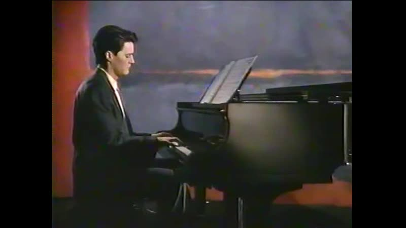 Kyle playing piano (Red hotblue 1990 ABC special)