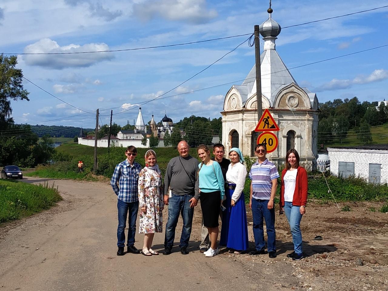 Поездка в Старицу и Иванищи