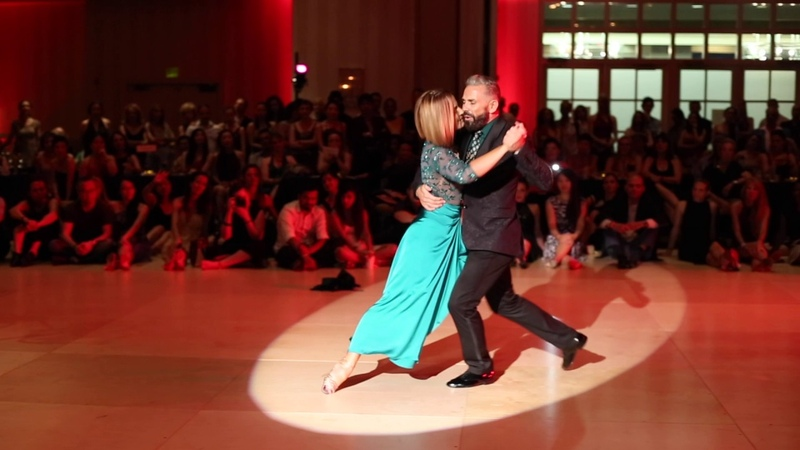 Claudio Gonzalez Julia Urruty at Tango Element 2017
