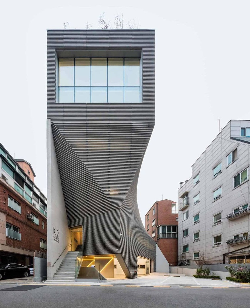 K2 Tower, designed by Jo Jinman Architects is a 5 story office