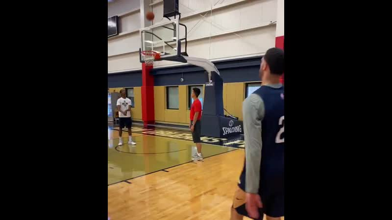 Lonzos been working on his jumper - - via @PelicansNBA -.mp4
