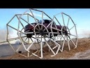 Truck Drives on 20 FOOT TALL WHEELS World Record