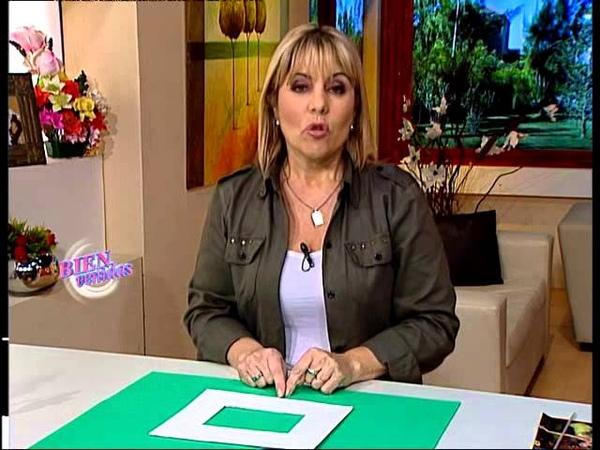 Silvina Buquete Bienvenidas TV Realiza portaretratos en cestería