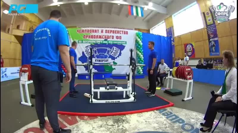 Чемпионат и первенство приволжского федерального округа по паурлифтингу (классический жим)