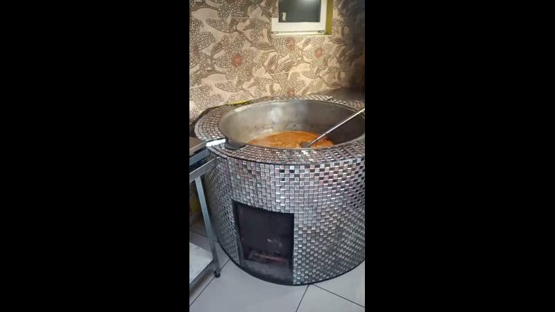 Жаренный ЛАГМАН и Машхурда мясной суп с машем On lineКУХНЯ 8 927 025 0001