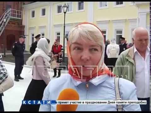 Патриарх Московский и Всея Руси Кирилл освятил храм в Сарове