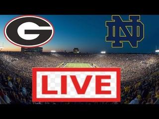 Notre Dame Fighting Irish vs Georgia Bulldogs LIVE HD | College Football Week 4 | 09/21/2019