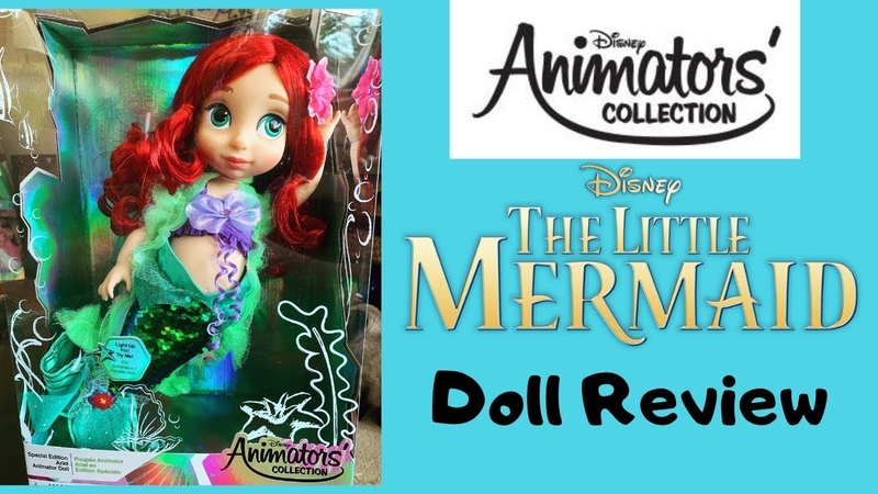Ariel The Little Mermaid Disney Animator's Collection Special Edition Doll Review