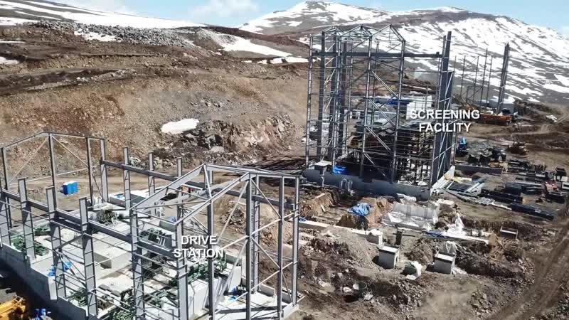 Золотодобывающеий комплекс Lydian в Армении