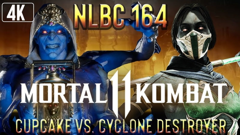 Mortal Kombat 11 @NLBC 164 Cupcake Kollector vs Cyclone Destroyer Jade 4k 60fps