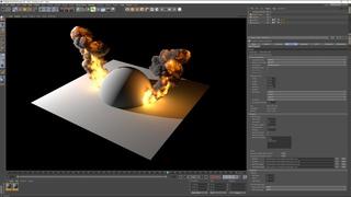 FumeFX 5.0 for Cinema4D workflow