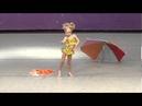 Emily Carey Premiere Dance Yellow Polka Dot Bikini