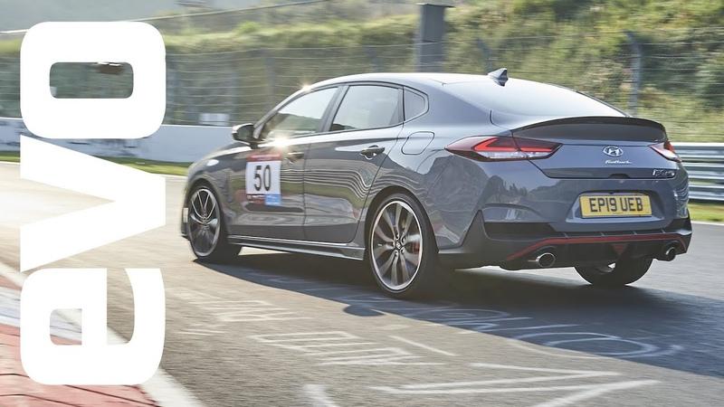 Hyundai i30 Fastback N v Nurburgring