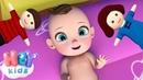 Ainsi Font Font Font les Petites Marionnettes karaoke 👶 Comptine pour bébé HeyKids
