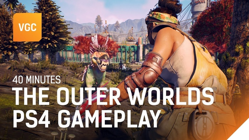 The Outer Worlds: 40 minutes of PS4 gameplay