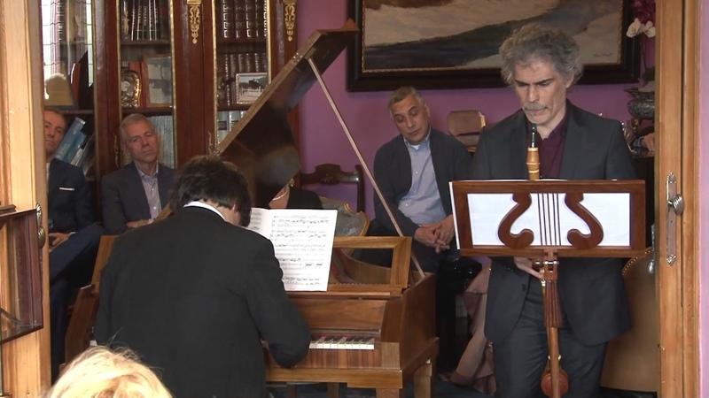 Hoffmeister clarinet sonata Lorenzo Coppola, Massimiliano Genot (fortepiano copia Walter - Bizzi)