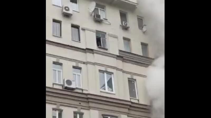 Пожар на Большой Сухаревской