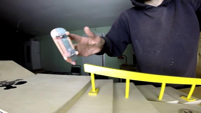 Systeam Fingerboards: Zharkov Sergey Concrete vs Wood