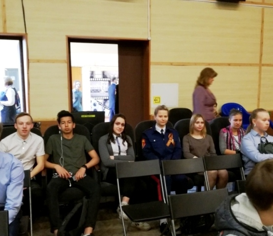 Студенты ТКТИ на кинофестивале фильмов о войне