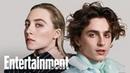 Little Women's Timothée Chalamet Saoirse Ronan On New Film | Cover Shoot | Entertainment Weekly