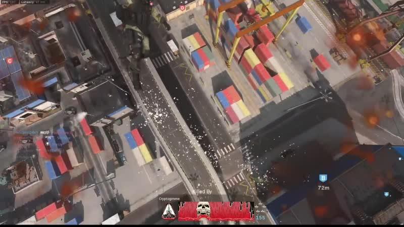 We got hit by an EMP drone in the chopper hilarious physics ensued Modern Warfare