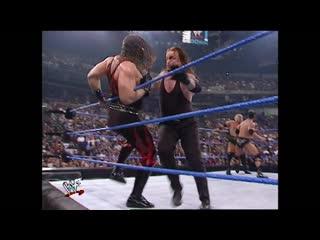 WWF SmackDown  - the Rock vs Rikishi vs Kane vs Undertaker