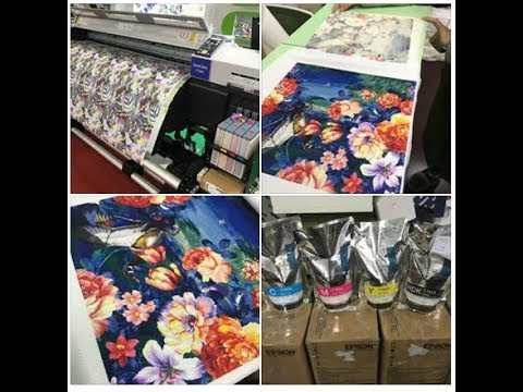 100gsm Fast Dry Sublimation Paper Sample Test on Epson Surecolor F6280