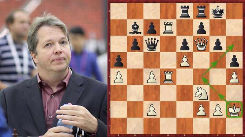 Der legendärste Königsmarsch der Schachgeschichte Nigel Short vs Jan Timman Tilburg 1991