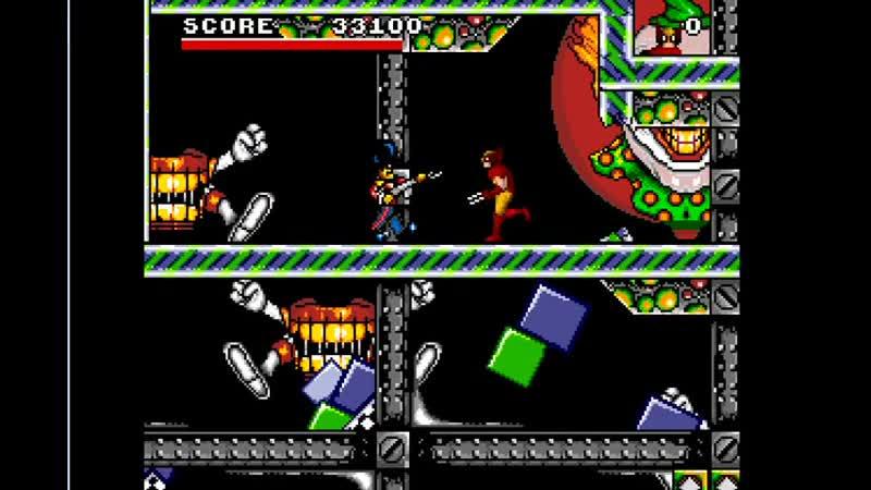 Обзор игры Spider Man and X Men Sega Человек Паук и Люди Икс Росомаха 11DeadFace