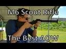 M6 Scout Survival Rifle AOW Shooting