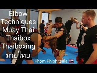 How to use Elbow in Muay Thai - Seminar in Fenris Gym České Budějovice,CZ  ThaiBoxKhom