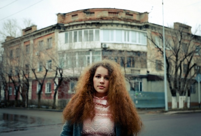 фотосессия на улицах города Караганды