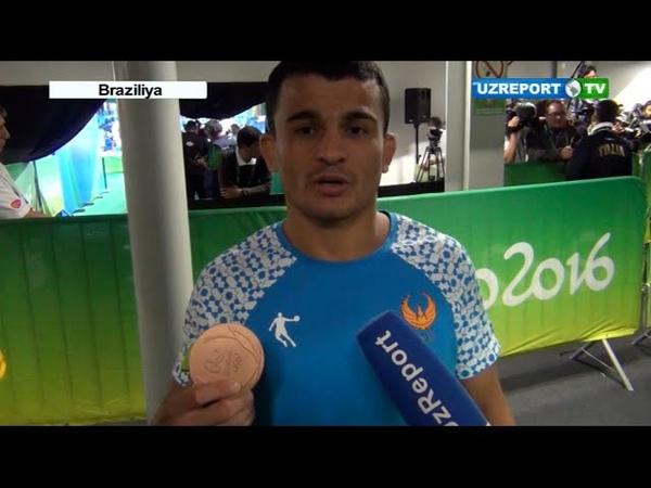Rio-2016. Rishod Sobirov - uch karra Olimpiya oyinlari sovrindori!