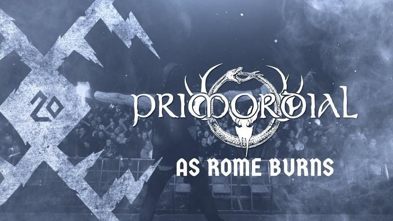 "PRIMORDIAL – ""As Rome Burns"" live at KILKIM ŽAIBU XX"