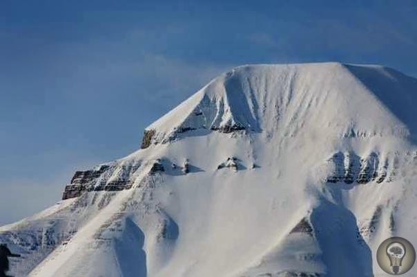 Гора «Пирамида» на Шпицбергене. Или все-таки не гора