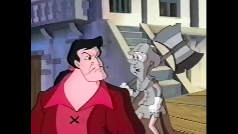 [VHSrip by AlexSRMD] Горбун из Нотр-Дама / The Hunchback of Notre Dame