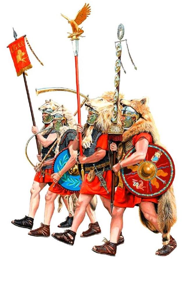 Римские знамена