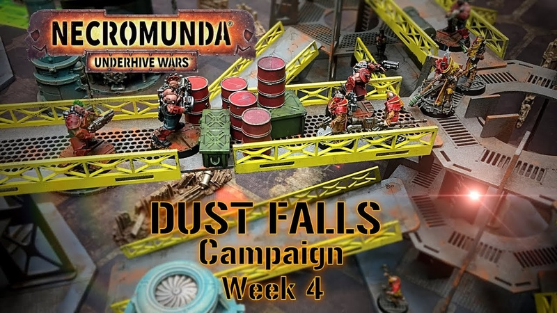 Necromunda Underhive The Dust Falls Campaign Week 4