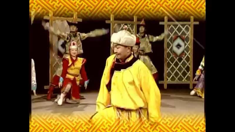 Танцы монгольских народностей