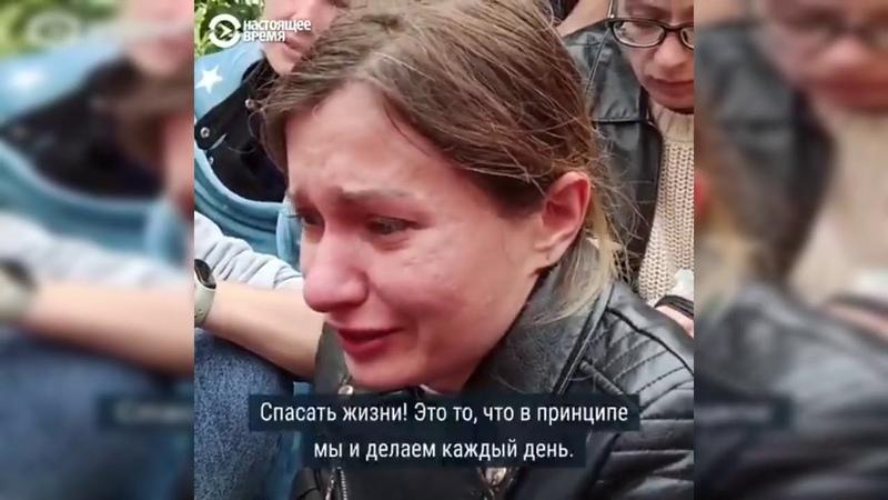 Избивали просто зверски Там было море крови шокирующие рассказы задержанных ОМОНом девушек