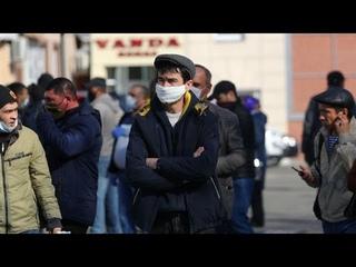 Таджикистан и коронавирус. Первые случаи заражения. Маски обязательны