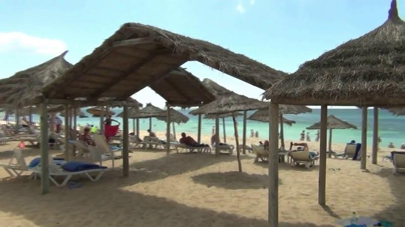 Тунис. Хаммамет. Территория отеля Bel Azur Thalassa Bungalows 4