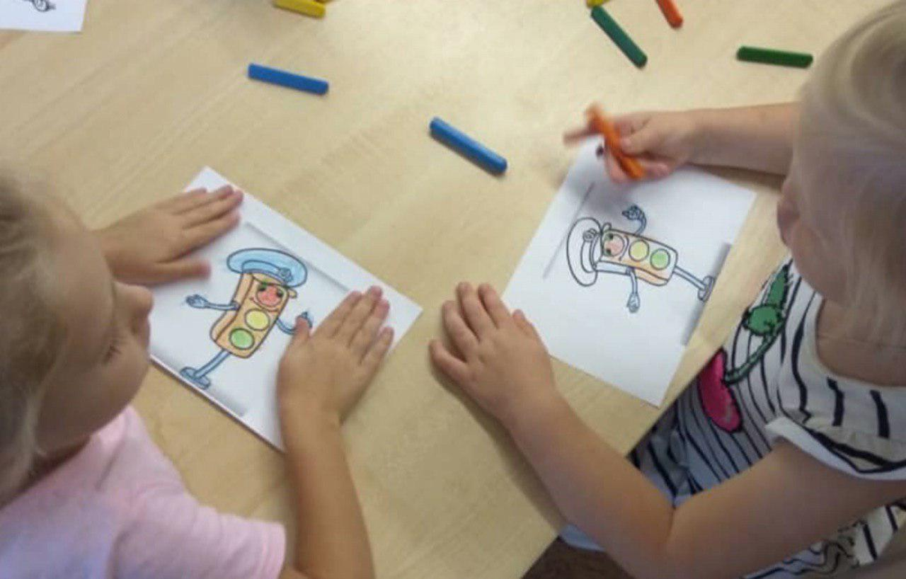 О безопасности на дорогах поговорили с дошкольниками из Некрасовки
