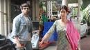 Kartik Aryan and Jhanvi Kapoor Spotted in commerce center at Andheri Mumbai Bollywood Masti