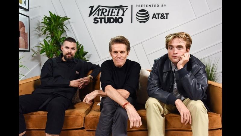 Интервью Роберта Эггерса Роберта Паттинсона и Уиллема Дефо для Variety Studio TIFF2019