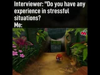 Когда на собеседовании спрашивают, есть ли у вас опыт в стрессовых ситуациях